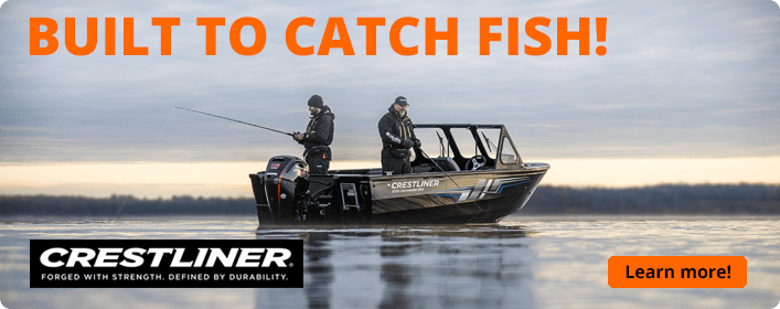 Crestliner Commander Elite offers plenty of fishing features