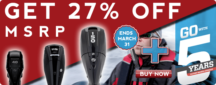 Get 25% off MSRP ends March 31st